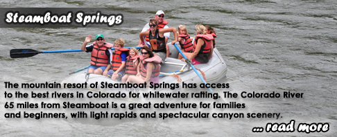 Steamboat Springs Whitewater Rafting Colorado