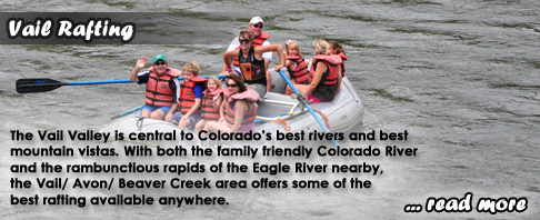 Vail Whitewater Rafting Colorado