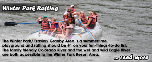 Winter Park Whitewater Rafting Colorado